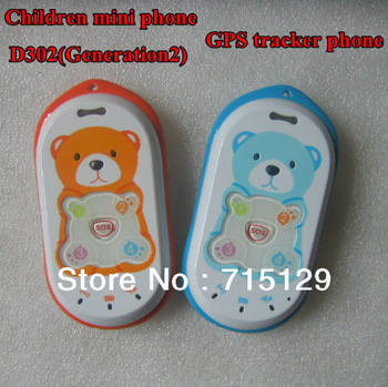 Children Phone Lovely GPS tracker phone Cute baby phone quadband Free web based GPS tracking system kids mobile free shipping