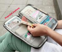 multifunction passport cover women and men travel wallets carteira coin case purse passport holder card document organizer bag