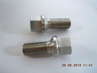 Hot Sell Gr5 titanium wheel bolt  with ball seat for car