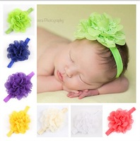 Baby Flower Headband Litte Girl hairbands Infant Headband Baby Girl Bow Newborn hair accessories 10pcs HB137