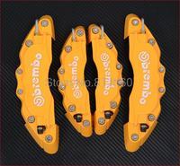 New Orange Brembo Brake Caliper Covers Front Rear Set Universal Car Truck 3D