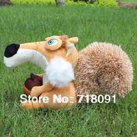 Plush Talking Toy Squirrel,The Head Can Move,Repeat any Language,20CM,1PC