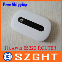 Unlocked Original New wireless Router Huawei E5220, PK E5331 E585 E586 E5832