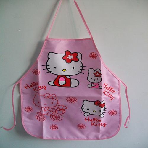 (1set=apron&oversleeve) Waterproof children kitchen apron set kid smock painting clothes 2-5years free shippin(China (Mainland))