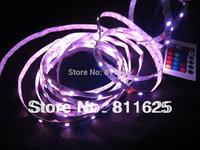 Hotsale Non-Waterproof  RGB Led Strip Light 5050 SMD 150 LEDs 5M 30Leds/m Party Deco Car Lights + 24 key IR Remote control
