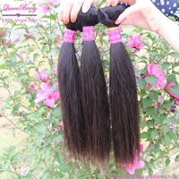 queen new aaaaa virgin brazilian 3pcs mac milky way straight human hair extensions black women wholesale price free shipping