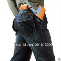 2013 Winter Autumn New Denim Long Jeans Casual Pants Men's Plus Size Jean Men Free Shipping