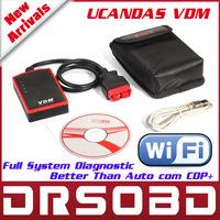 100% Orignial VDM Wireless Automotive Diagnosis System UCANDAS VDM Universal Car Diagnostic Tool Multi-Language + Free Shipping