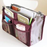 New 2014 Nylon Multifunction Make up Organizer bag Women Cosmetic bags Ourdoor Travel Bag Handbag Bolsas