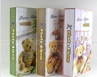 Special offer Korean cute baby Teddy 5 inch album 300 3R creative Packed Interstitials this album/3boxes of albums