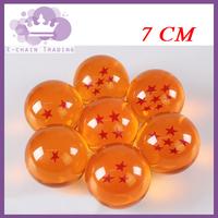 DragonBall 7 Stars Crystal Ball  Dragon Ball Z Balls 1:1Movie 7CM  children gift Novelty gift  1PCS Free shipping