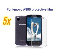 Free shipping   for  lenovo A800  Durable and Anti-scratch Film Clear Screen Protector  5pcs/lot with Retail Package