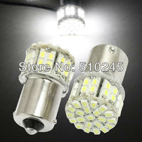 10x car led s25 ba15s 1156 p21W 50 led smd 50smd Turn light bulb lamp WHITE Free shipping