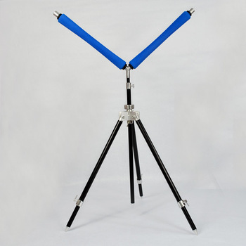 Free shipping fishing tripod with rod roller fishing rod pod for carp fishing accessories