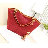 Women Shoulder Bags Brand designer PU Canvas Bags women Tote messenger Bags Vintage Women leather Handbags Tassel Bolsa Franja