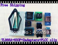 V6.0 Russian Manual TL866A+PLCC32/44 Clip+SOP8/16/28 DIP8/16/28 SSOP8 to DIP28 USB Universal Bios programmer ICSP FLASH\EEPROM