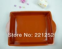 100% Food Grade Silicone Cake Mold bakeware- Rectangular Cake Pan/mould(FDKP-2043A)