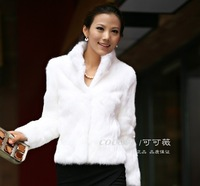 Free shipping  Short-haired fur coat special imitation of  Rex Rabbit  faux  Fur Coat  jacket