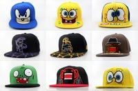 Teenage Mutant Ninja Turtles Cartoon caps;Bio Domes Sonic Neon Snapback hat