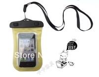 IPX8 level mobile phone waterproof bag blue diving underwater 10 meters waterproof phone pouch PVC mobile phone waterproof bag