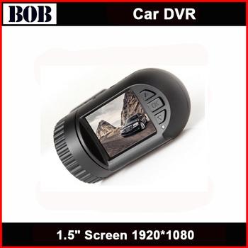 2014 Newest Ambarella chip 1920*1080 full HD With GPS bulit in 8GB Card car black box dvr recorder
