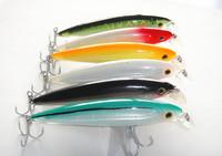 Wholesale - New minnow bait fishing lures hard plastic baits china  hook floating 42g/14cm lip length 2 cm