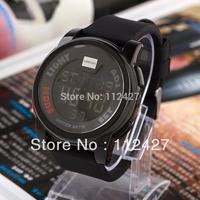 Free shipping new men 2014 sports watch quartz watches men mechanical hand wind military watches  wristwatch--EMSX13112303