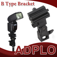 Wolesale 10pc Light Stand Bracket B Wholesale Swivel Flash Light Stand Mount Bracket Shoe Umbrella Holder Type B , Free /