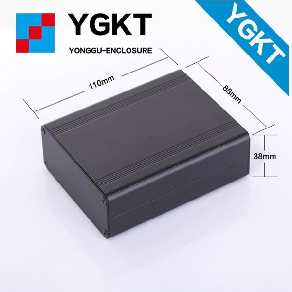 YGW-007 88*38*118/3.46*1.49*4.65mm (wxhxl)IP66 CE approved Aluminum box aluminium enclosure for electrical industry, TIBOX(China (Mainland))