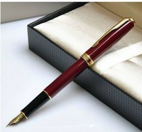 Parker fountain pen 08 drow scrub gold lea clip fountain pen ink pen fountain pen zitie