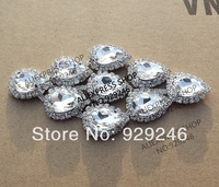 free shipping 6*11.5cm clear sparkling glass rhinestone applique trims for wedding evening dress mink coat hat boots decoration
