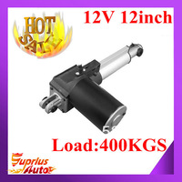 12/24VDC eletric motors, 300mm/ 12inch stroke, 4000N linear actuator