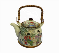 "Pastel Teapot  Porcelain Tea Sets Tea Pot 1000CC ""  Four great beauty"" + Gift 6 Bags Tie Guan Yin Oolong Tea"