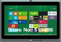 11.6inch intel celeron 1037U dual core CPU dual camer rear camera 5mp windows 8 os tablet PC