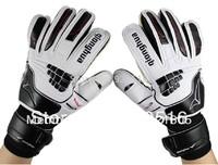 QIONGHUA QH-536 kids soccer /football goalkeeper gloves / finger breathable slip-resistant latex gloves