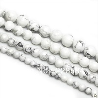 Free shipping , Wholesale 40pcs/lot AAA+10mm White Round Jade Stone Loose Beads for jewelry making