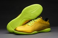 2014 new color soccer shoes men indoor Flat Bottom football boots football shoes and free shipping