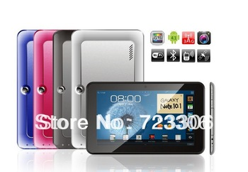 9 inch Hd 1280 * 600 capacitive screen MTK6512 dual-core 2G call tablet metal shell, dual cameras WIFI Bluetooth Multi-Touch MID