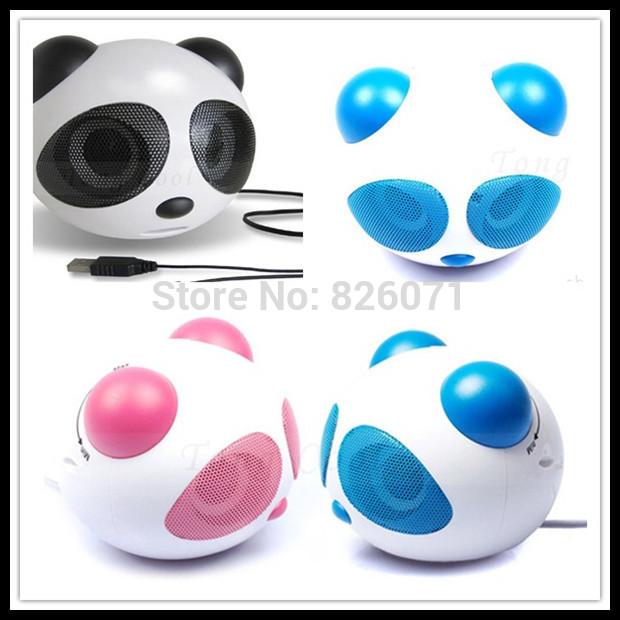 kung fu panda mini speaker ,mobile phone mp3 palyer, portable audio player ,super cat cartoon sound box(China (Mainland))