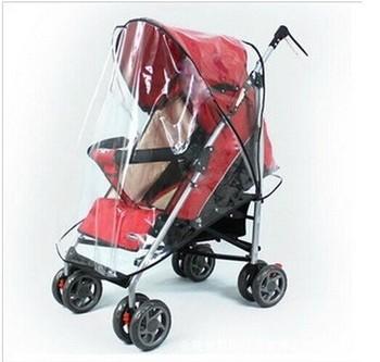 2015 New Direct Selling Freeshipping Boys Girls Capa De Chuva Raincoat Cover Warm Hood Windshield Used Rain Wind Baby Stroller
