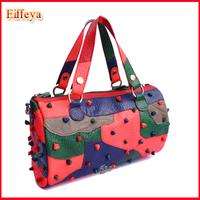 New Fashion Women's Handbags Women's Mini Cylinder Pillow Bags Lady Tote  Elegant Women's Shoulder Bag Free Shipping