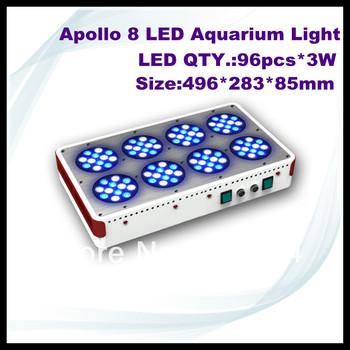 96*3W apollo 8 led aquarium lighting,led aquarium light for coral