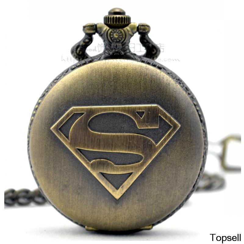 Dial:45mm SUPERMAN standard the retro fashion Dan Yinghuai table for men and women antique watch gift(China (Mainland))