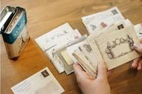Vintage  mini-series small decorative colorful envelopes european specialty  classic retro personality/120pcs/set/ free shipping