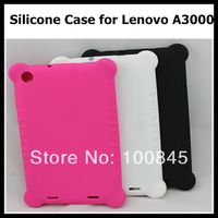 High quality silicone Case Silicon Case for Lenovo A3000 7inch 3G Phone Tablet PC Free shipping