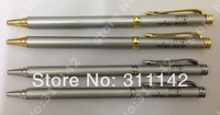 ROLLER BALL PEN SILVER COLOR LUXURY STYLE FOR WHOLESALE 500PCS/LOT PRINT CLIENT LOGO