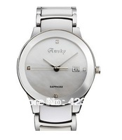 Switzerland brand Awsky Women Ceramic Watch+Czech Diamond+ waterproof 3ATM ultra-thin  lady ceramic watch