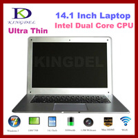 """Laptop Notebook Computer, 14.1"""" 4GB RAM, 320GB HDD Laptop with Intel Atom D2500 Dual Core 1.86Ghz, Webcam"""