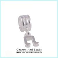 New 925 Sterling Silver Music Note Pendant Charm Fits Pandora Style Charm Bracelets & Bangles