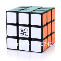 Dayan 6 PanShi Black/White 3x3x3 57mm Speed Cube Free Shipping Wholesale